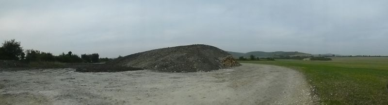 Panorama of The Long Barrow