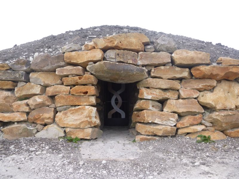 Entrance to The Long Barrow